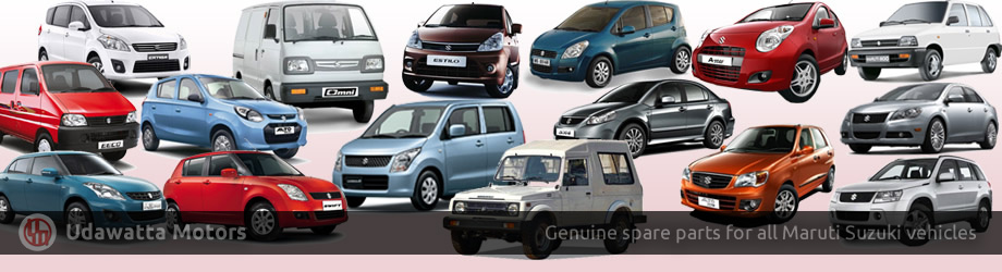 Genuine Spare Parts for all Maruti Suzuki vehicles